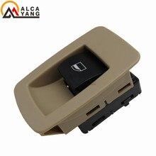 Power Beige Window Lifer Switch/Button For BMW E60 520I 523I 525I 530I 61316951956 61 31 6 951 956 German Specification