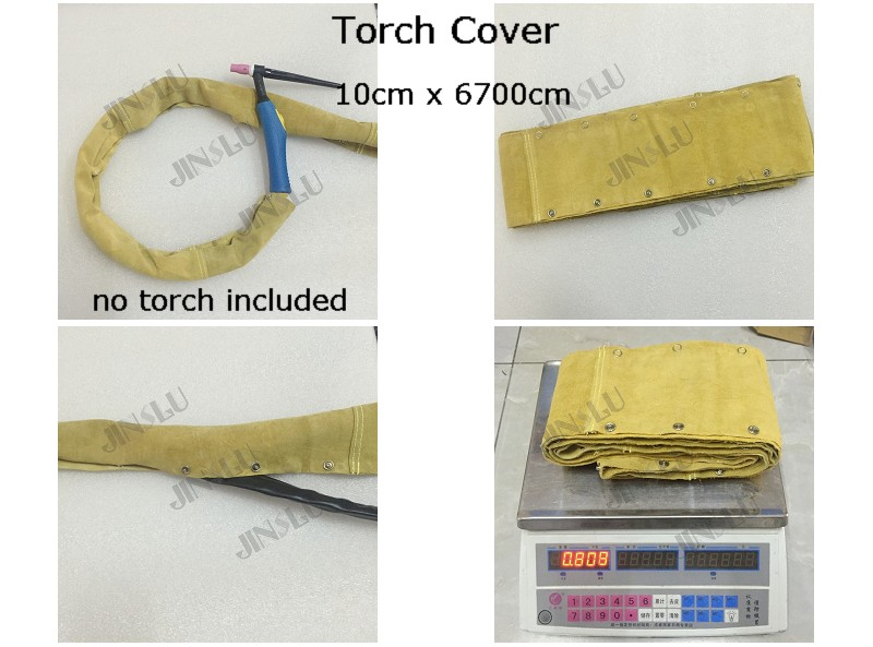 Welding Torch Cloth Cable Leather Cover 6.7M for Tig Torch QQ150 WP 9 17 18 26 Plasma Torch PT-31 LG40 welding machine parts silica gel soft wp 26 wp 26 tig 26 tig torch complete package 8m 25feet with m16 x 1 5mm 26 series welding machine parts