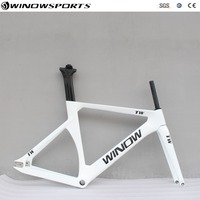 Aero Track Carbon frame Carbon Track 700c fixed gear track bike frameset 48/51/54/57cm carbon Track bicycle frame