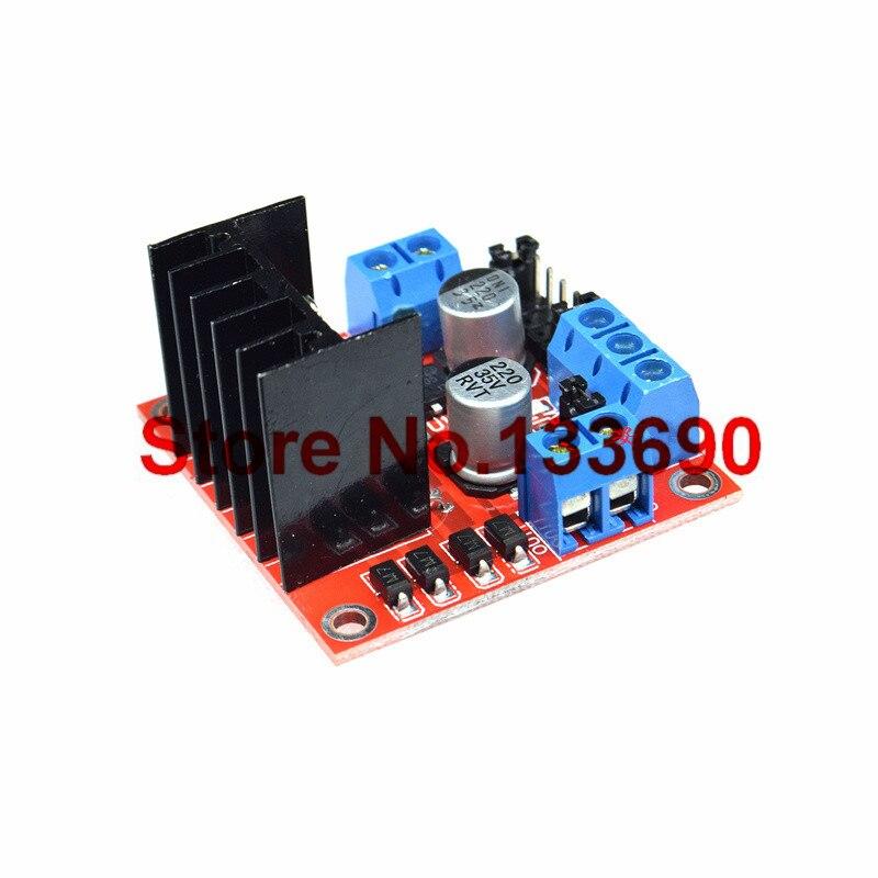 1pcs New Dual H Bridge DC Stepper Motor Drive Controller Board Module L298N stepper motor smart car robot