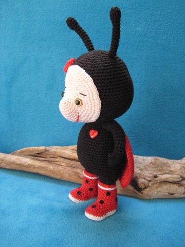 Ladybug and Tikki PDF Amigurumi Patterns - Sueños Blanditos   480x360