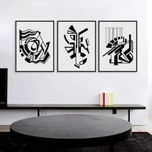 Modern Minimalist Nordic Black White Symbol A4 Large Art Prints Poster Abstract Wall Picture Canvas Painting No Frame Home Decor(China)