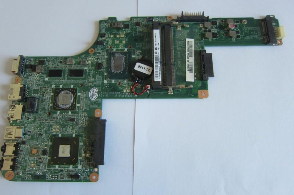 L830 non-integrated FOR TOSHIBA Satellite laptop motherboard L830 A000208910 DA0BU8MB0D0
