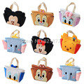 Tsum Tsum Plush Lunch Bag for Kids Cute Lunch Box Bag Minnie Mickey Dumbo Chip Children Thermal Cooler Food Bag Tote Handbag