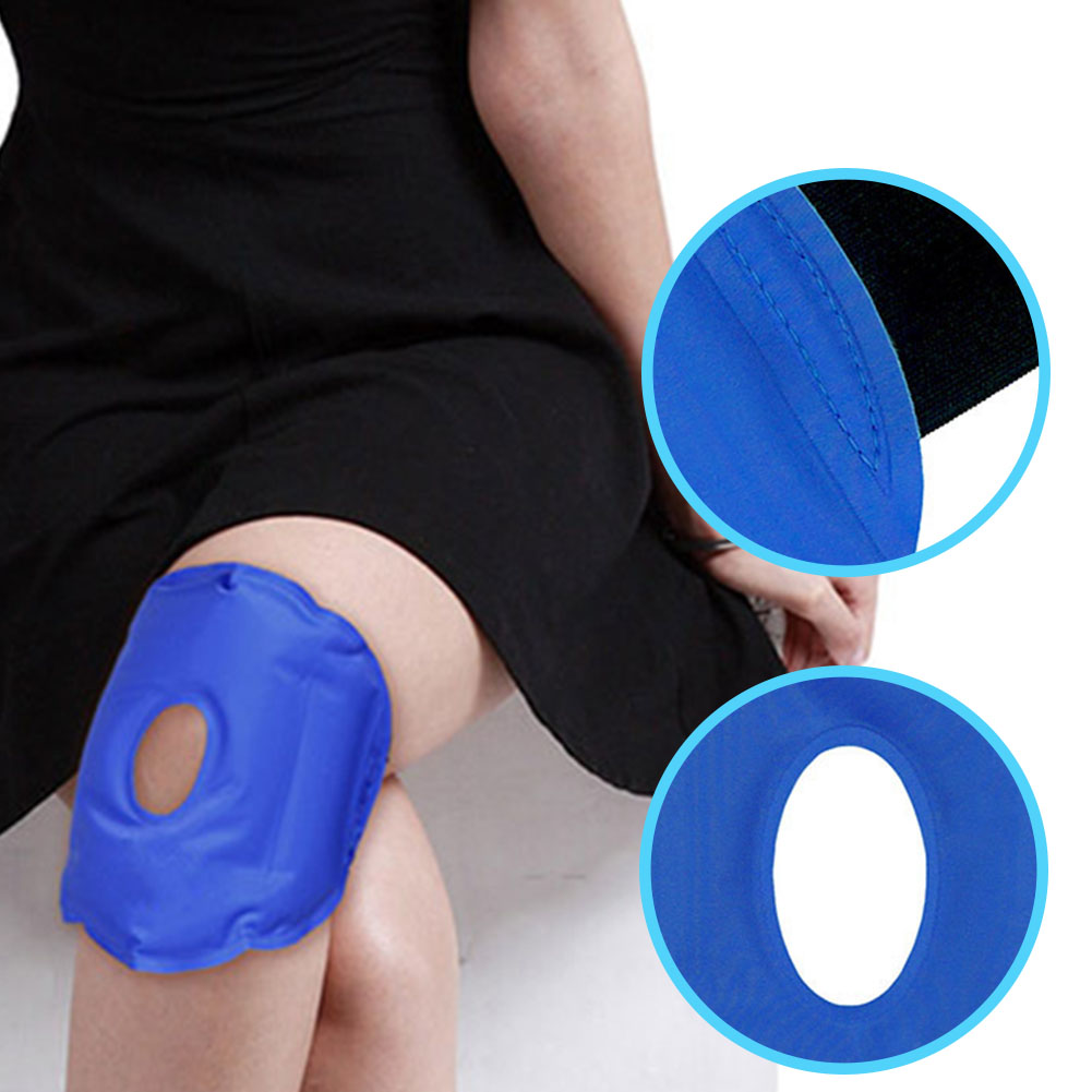 Adjustable Reusable Wrap Heat Sports Injuries Knee Patch Ice Surgery Breathable Hot And Cold Gel Pack Therapy Pain Relief