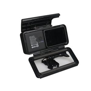 Image 2 - צד נייד חיצוני אספקת חשמל עם הגנת מסגרת שיכון לgopro Hero5/6/7 שחור סוג  C מצלמה אבזרים