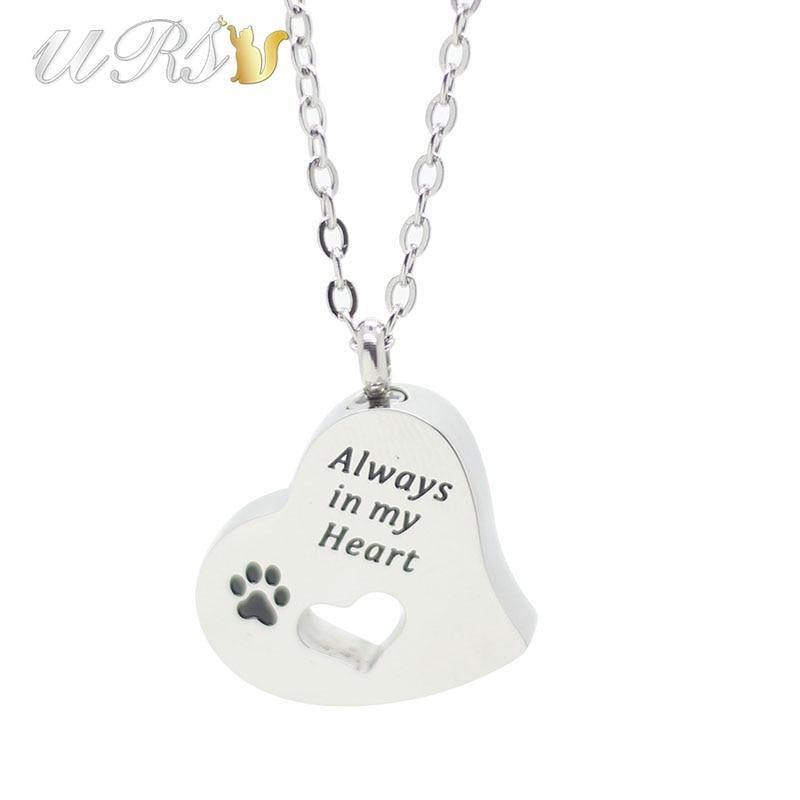 keepsake urns necklaces always in my heart free shipping worldwide