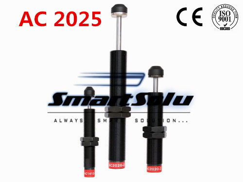 free shipping 1pcs AC2025 M20x1.5 Pneumatic Hydraulic Shock Absorber Damper 25mm stroke free shipping 1pcs m42x1 5 pneumatic hydraulic shock absorber damper 25mm stroke ad 4225