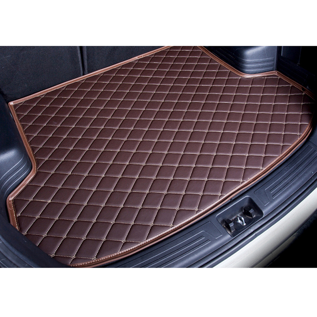 custom car trunk mat for Citroen C5 C4 Cross Picasso C2 C4L C-elysee DS5 LS DS6 car styling carpet floor liner