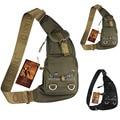 New Men Durable Nylon Shoulder Messenger Cross Body Bag Military Travel Riding Water Bottle Sling Chest Pack