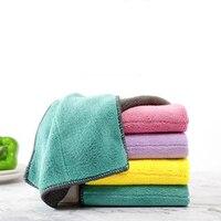 5 шт. сверхвпитывающая микрофибра кухонная ткань для посуды с высоким уровнем эффективная посуда домашнее полотенце для уборки кухонные ин...