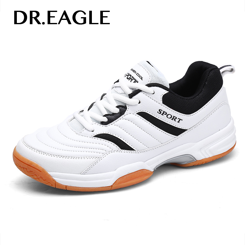 Dr.eagle Indoor shoes badminton men sports Breathable mesh Anti-Slippery Rubber Outsole man Sneakers shoes for men shoe