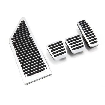 Brand New High Quality New No Drilling Steel Stainless Fuel Brake Pedal Cover Set For Chevrolet Aveo MT