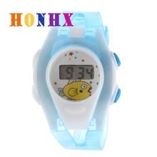 Fashion Children Watch LCD Digital Quartz Watch Boy Girl Student WristWatch For Kids Colorful Sport Electronic Digital Watch