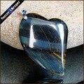 Genuino Natural Piedra Azul Ojo de Tigre Gema Healing Crystal hombres de Moda del Encanto de Los Colgantes de Moda Collar de la Declaración Joyería JS295