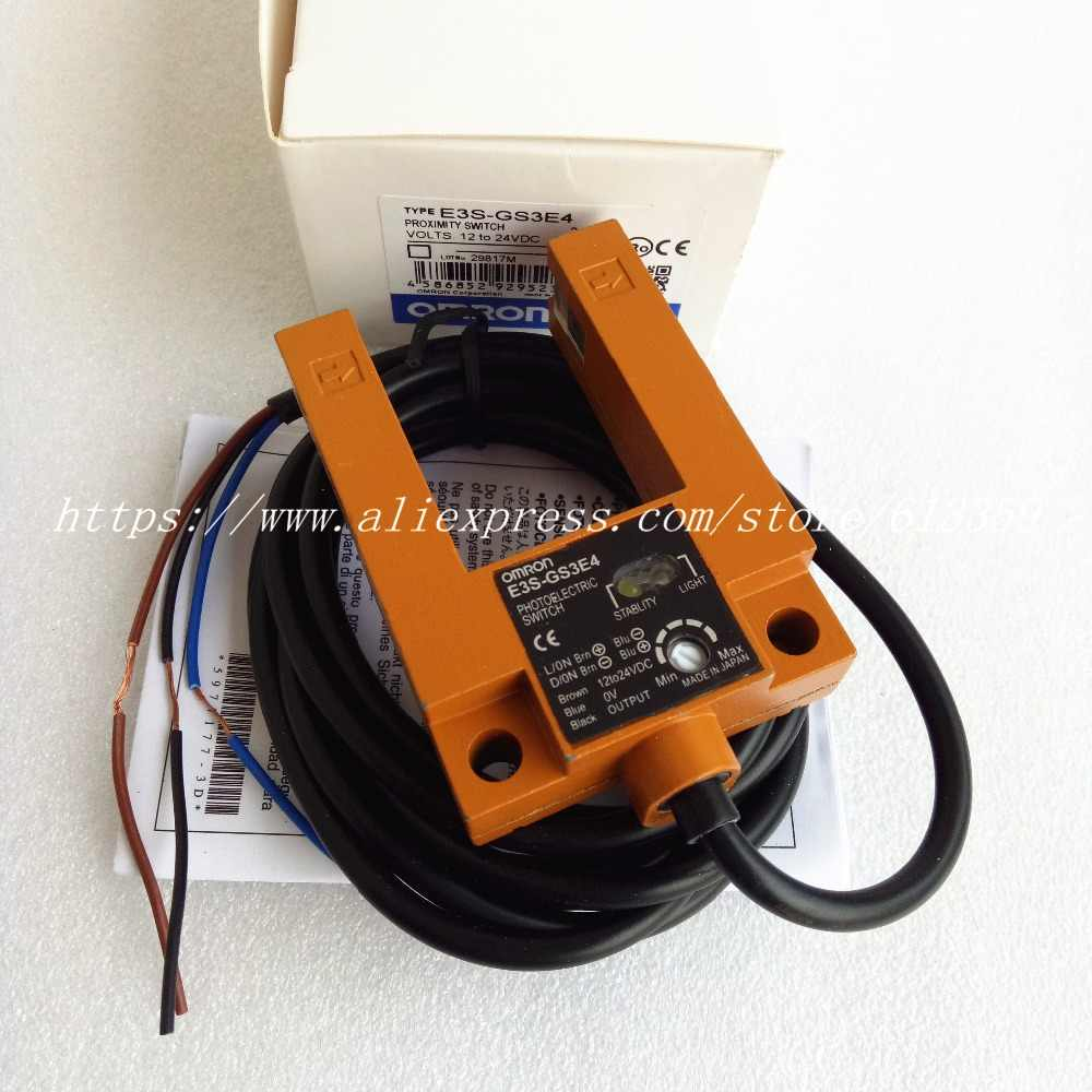 Omron ES-GS3B4 Photelectric Switch new