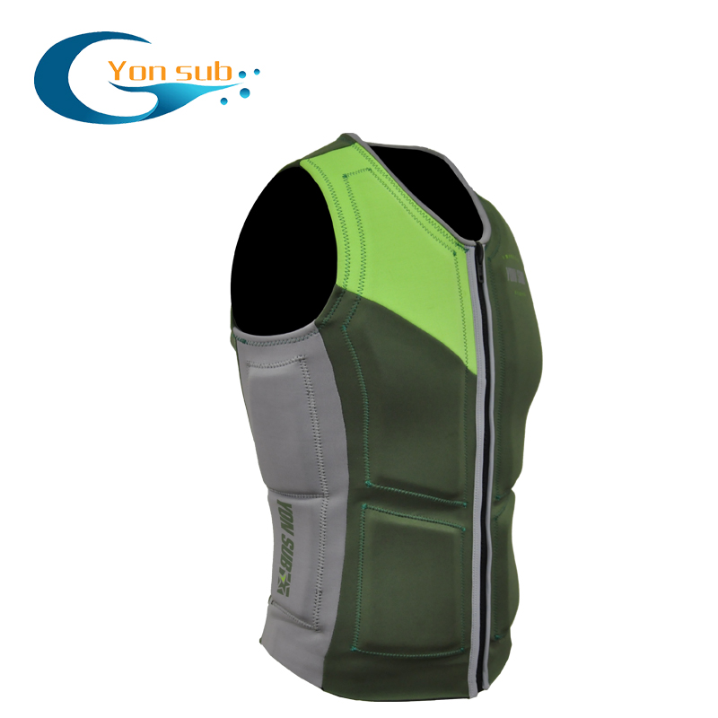 Surfing Kayak Life Jacket Vest Adult Snorkeling Vest Water Skiing Equipment Men anticollision Life vests For
