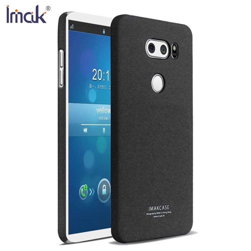 For LG V30 Cases Cover IMAK Hight Quality Matte Case For ...