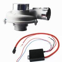 Автомобиль улучшить Скорость экономия топлива электрическая турбо Комплект нагнетателя воздушный фильтр для японских автомобилей