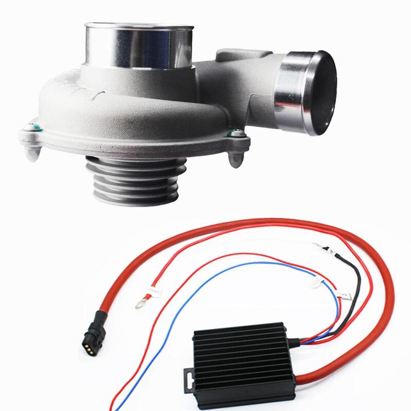 Voiture améliorer la vitesse économiseur de carburant électrique Turbo compresseur Kit filtre à Air d'admission pour les voitures japonaises