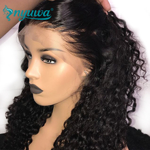 Pre Plucked Full Lace Human Hair Wigs With Baby Hair Glueless Curly Full Lace Wigs For Black Women Brazilian Remy Hair NYUWA Wig