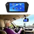 Автомобиль (MP5) Зеркало Заднего Вида Монитор 7 Дюймов с Высоким Разрешением Монитор Заднего Вида