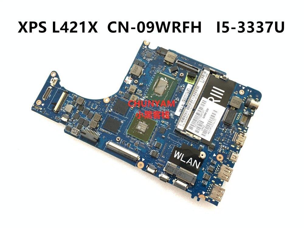 CN-09WRFH 9wrfh para dell xps l421x portátil placa-mãe qlm00 LA-7841P rev 1.0 I5-3337U mainboard 100% testado