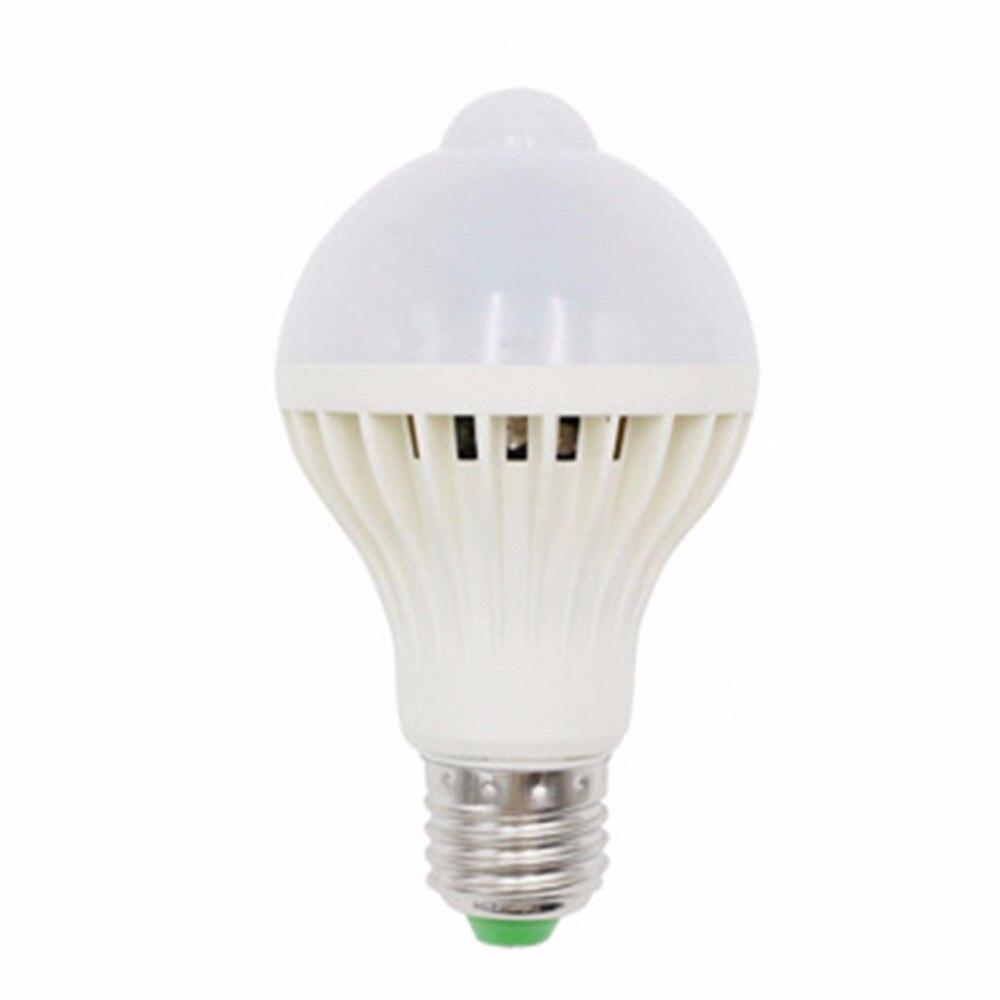 Lâmpadas Led e Tubos e27/b22 led pir sensor de Material : Plastic And Led