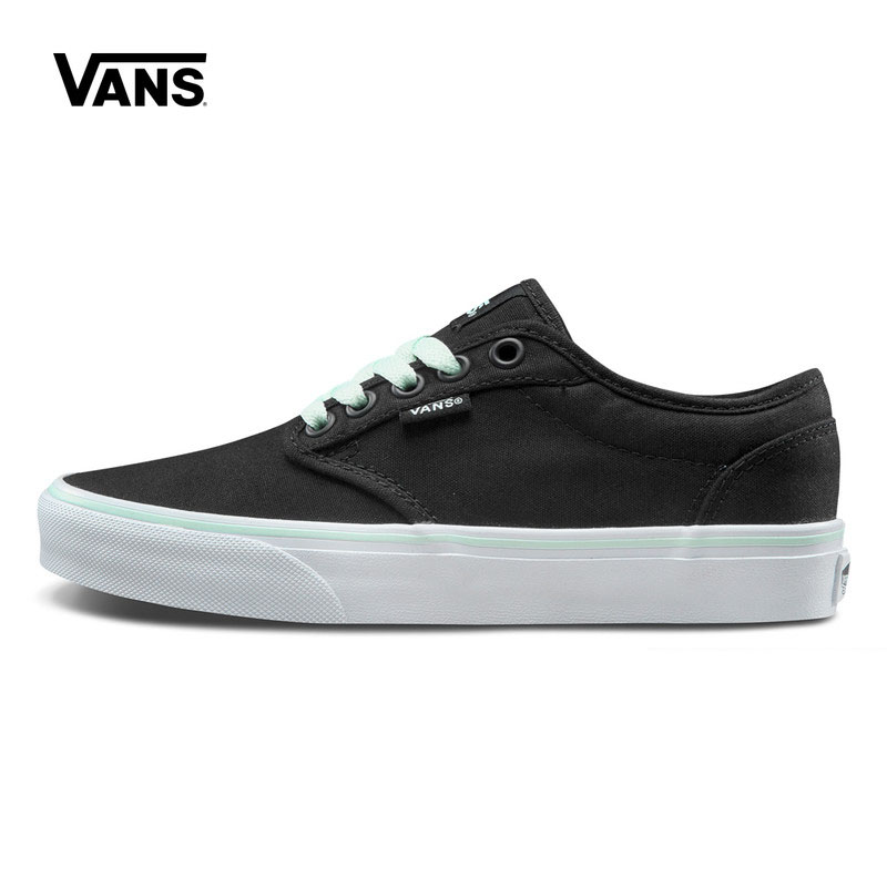 все цены на Original New Arrival Vans Women's Active Atwood Low-top Skateboarding Shoes Outdoor Sneakers Canvas Comfortable VN000ZUNIOK