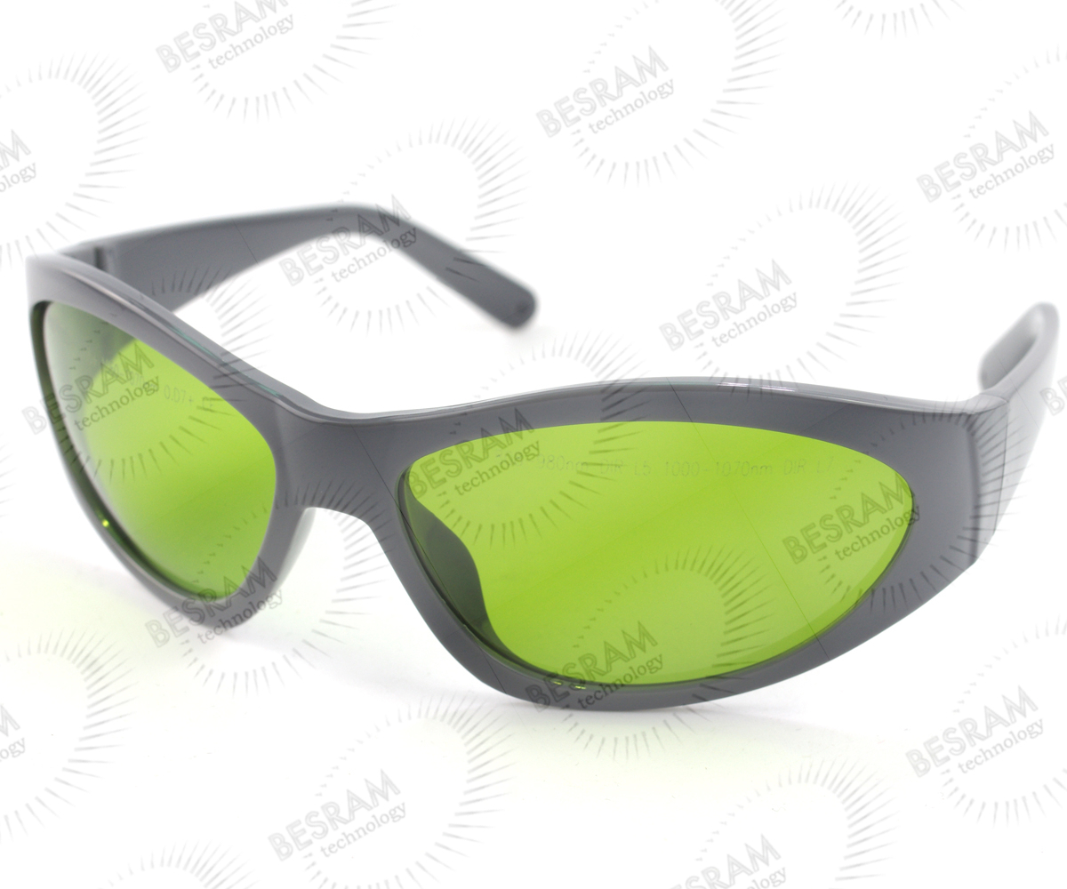 Laserland LP-YHP-55 800nm-1100nm OD5+ 1060nm1070nm OD7+ Laser Protective Goggles Safety Glasses 55#