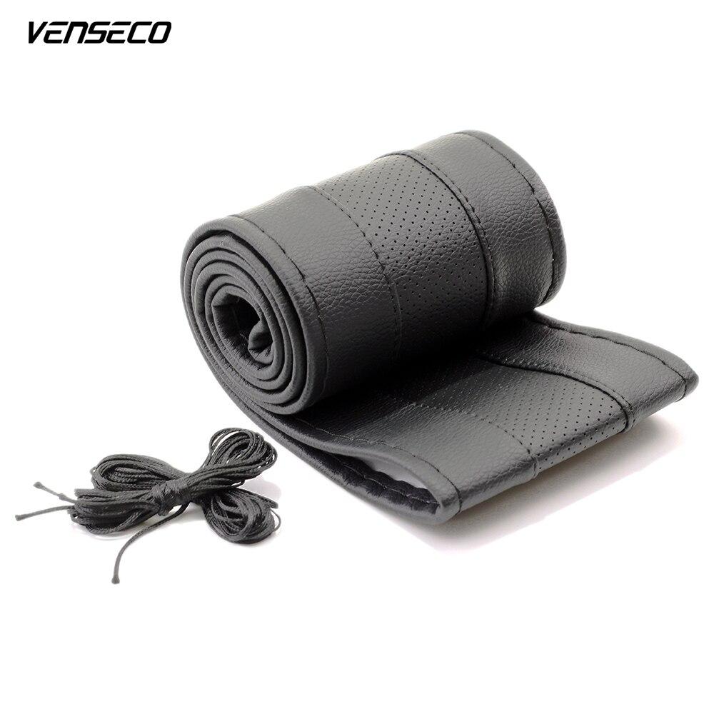 VENSECO通気性ハンドルハブ通気性縫製ハンドルカバーDIYクラシックハンドルカバーソフトブレード