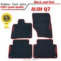car sticker hot Anti skid high quality Custom Rubber car Floor Mats rubber foot pad carpet floor liner for AUDI A6 Q7 Q3 A4L