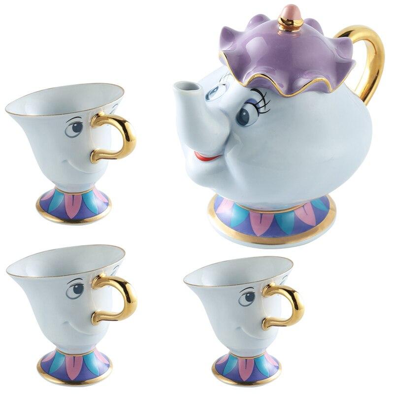≧Dibujos Animados belleza y la Bestia tetera sra. Potts chip té ...