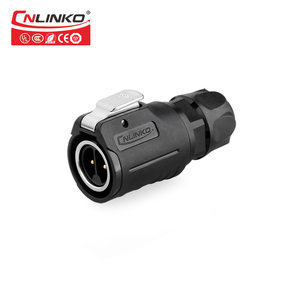 Image 4 - Cnlinko M16 2 3 4 5 7 8 9 Pin Cable impermeable toma de conexión señal de potencia Conectores eléctricos de iluminación LED Industrial