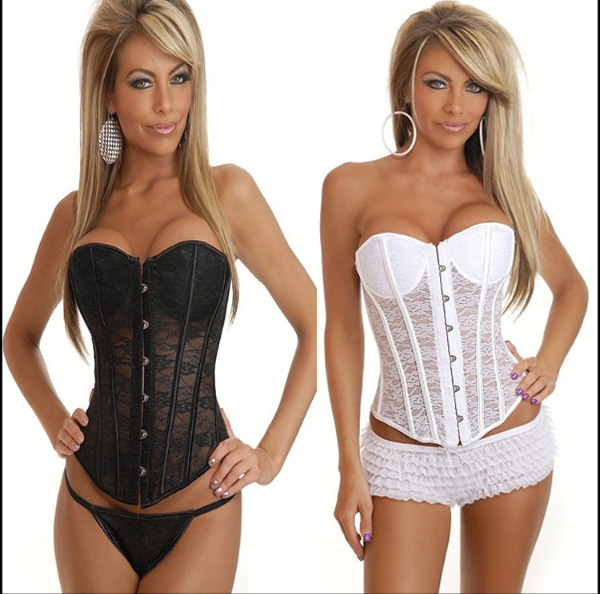 3cc53fb69b6 black white lace plus size waist training corest vintage royal modeling  girdles shapewear high waist body shaping trainer slim