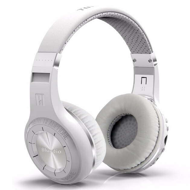 ФОТО Bluedio H + turbo upgraded version of the hurricane system headset Bluetooth 4.1Stereo Headphones built-in Mic Built-in FM Radio