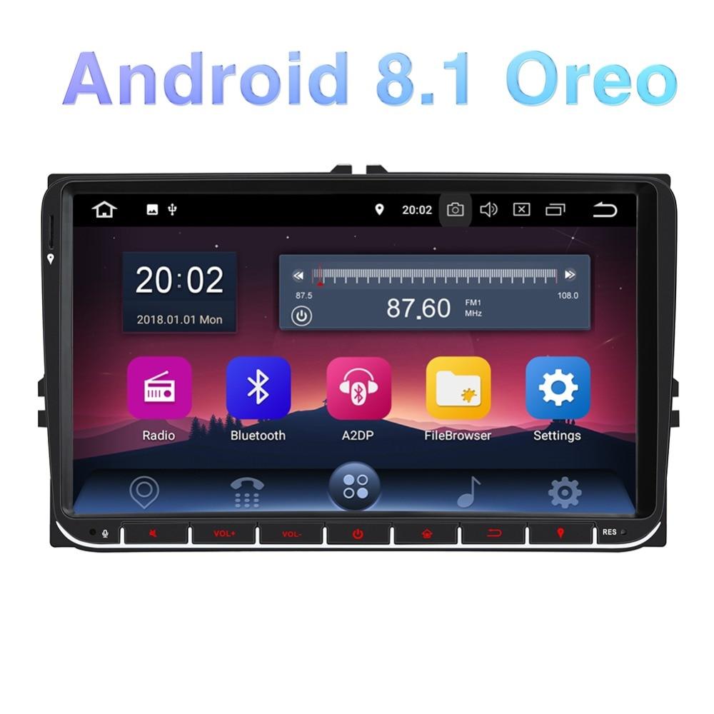 Pumpkin Car Multimedia Player 2 din 9 2GB RAM Car Radio GPS Android 8 1 Car