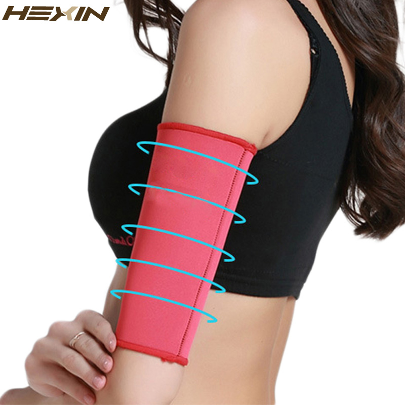 Neoprene Sauna Armbands Body Arm Shapers Warmers Slimmer Sleeve For Lose Fat