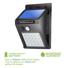 Outdoor Solar Lamp Waterproof PIR Motion Sensor Wall Light 8/16/20 LED Solar Power Light Energy Saving Garden Security Lamp цены
