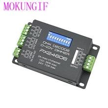 LED-controller PX24606 DMX 512 Decoder 9A DMX 512 Verstärker 12 V 24 V Für 5050 3528 Einzelnen Led-streifen licht