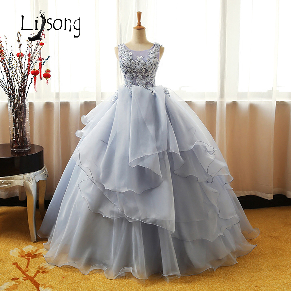 Puffy Evening Dress Long Red Carpet Celebrity Formal Gowns