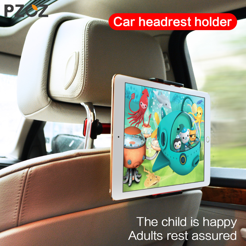 PZOZ for ipad car holder Back Seat Mount 360 Degree For iphone 6 7 mini Air SAMSUNG Tablet mobile phone headrest stand universal