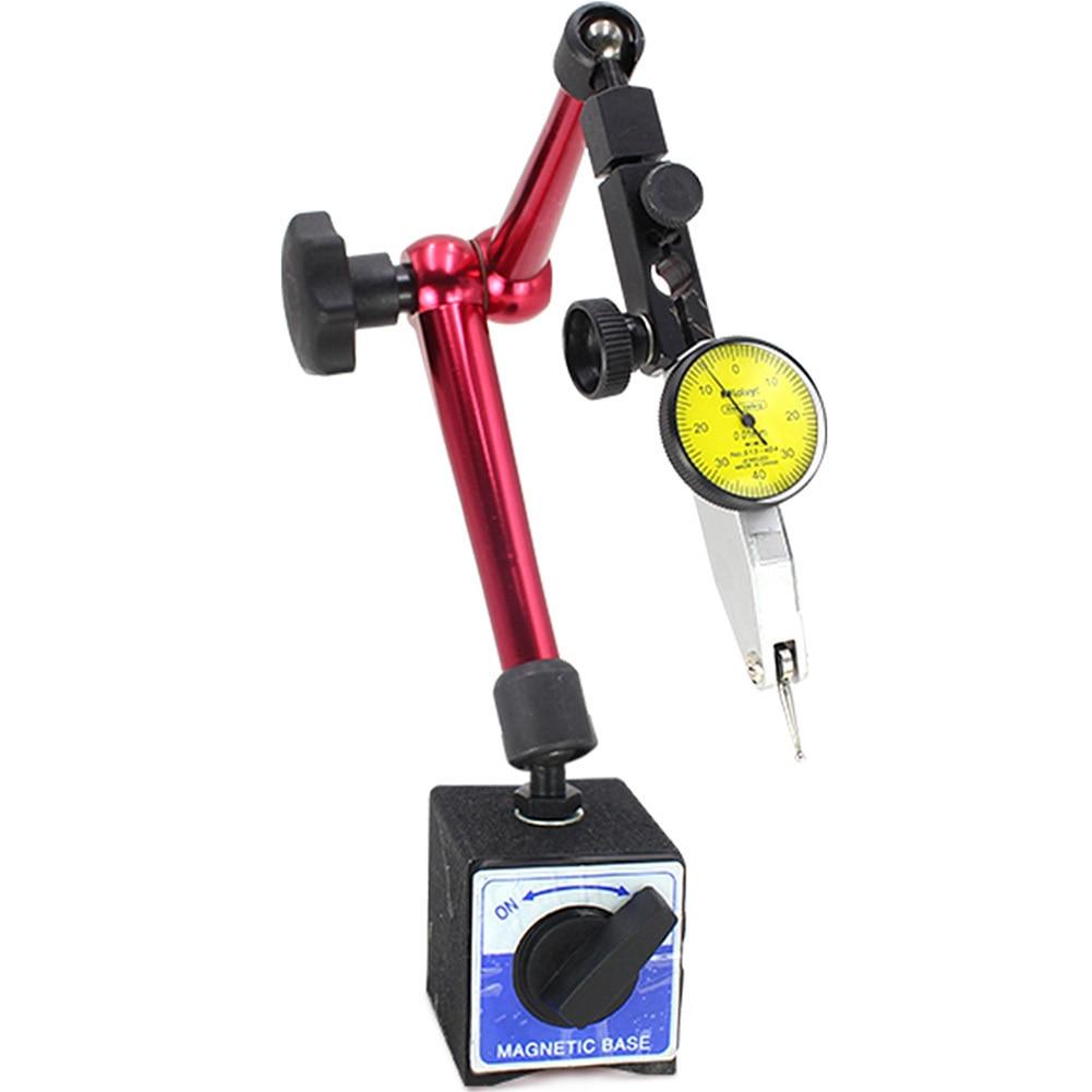Hohe Qualität Mini Universal Flexible Magnetische Basis Halter Ständer & Messuhr Tool Magnetische Korrektur Gauge Stehen Neue