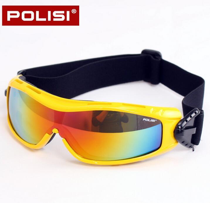 Polisi invierno snowboard skate gafas uv gafas de protección gafas de nieve niño