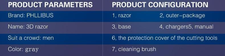 electirc shavers for men 7
