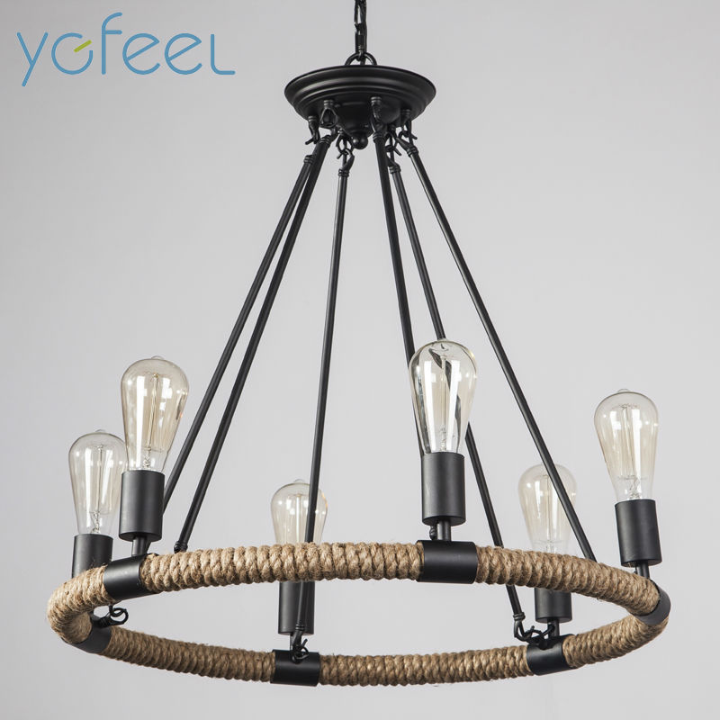 [YGFEEL] Retro Pendant Lights American Country Rustic Style Living Room Pendant Lamps Cafe Coffee Restaurant Bar decoration ascelina american retro pendant lights industrial creative rustic style hanging lamps pendant lamp bar cafe restaurant iron e27
