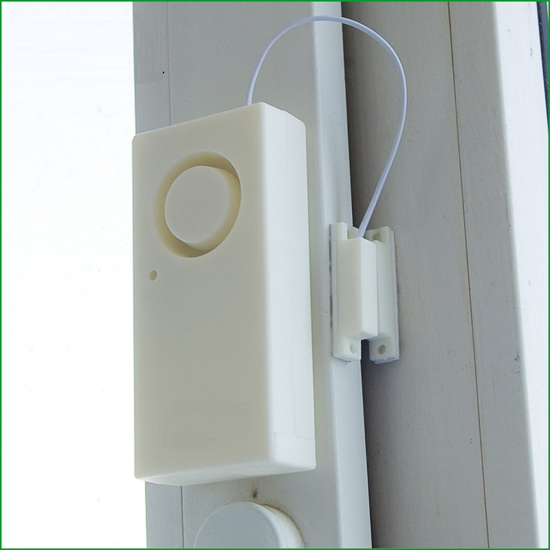 Original Wireless Window Door Magnet Sensor Detector For Home Wireless Alarm System wireless vibration break breakage glass sensor detector 433mhz for alarm system