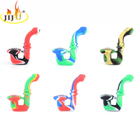 JIJU New Cigarette 76g 11 5cm Little Silicone Small Weed Pipes Electric Pvc Smoking Pipe Threader