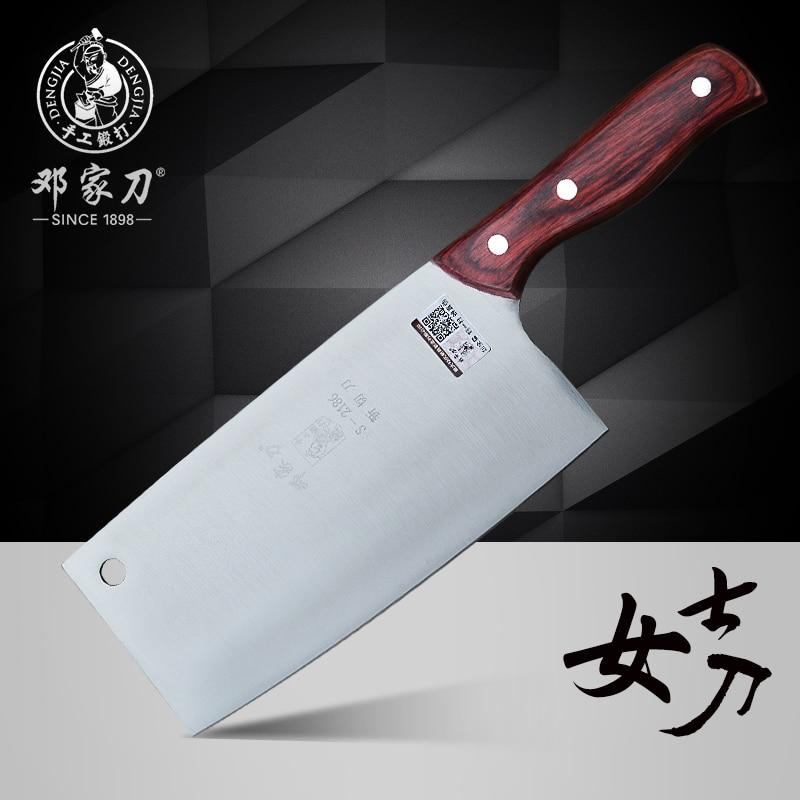 Free Shipping DENG Chop Bone Cut Meat Dual purpose font b Knife b font Professional Chef