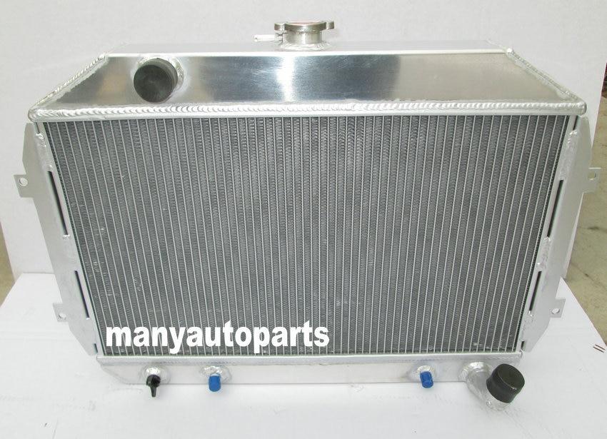 Aluminum radiator for Datsun 240Z//260Z L24//L26 1970-1975 1974 73 72 71